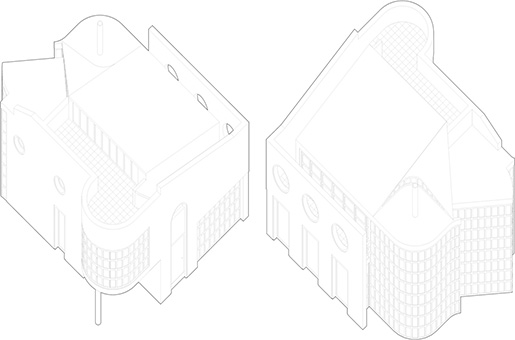 Meadow House Axonometric Views